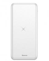 Внешний аккумулятор Baseus Power Bank Wireless Charger M36 10000 mAh White