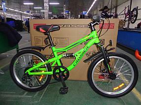 """Спортивный горный велосипед Crosser Legion 20 дюймов размер рамы 12"""" GREEN"""