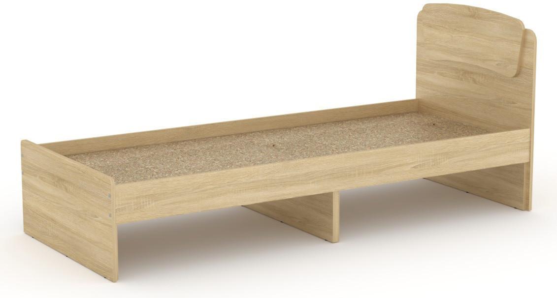 Кровать без ящиков Классика-80 КОМПАНИТ Дуб сонома (204.2х85.2х86 см)