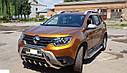 Кенгурятник с грилем (защита переднего бампера) Renault Duster 2018+, фото 2