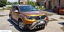 Кенгурятник с грилем (защита переднего бампера) Renault Duster 2018+, фото 3