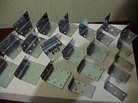 Уголок крепежный большой асортимент 20х20х17х1.5 до 110х110х100х2