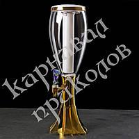 Диспенсер для напитков Башня Вавилон золото