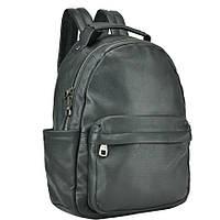 Женский кожаный рюкзак TIDING BAG A317 Черный