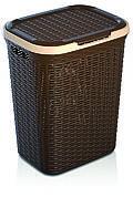 Корзина для белья Ротанг (43 X 34 X 55 см)  50 л