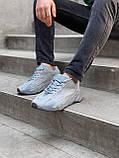 Мужские кроссовки Adidas Yeezy PA82 голубые, фото 2