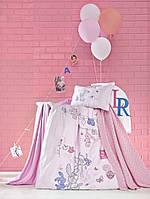 """Детское постельное белье в кроватку Турция """"LITTLE ранфорс La Romano"""