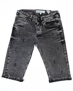 Бриджи джинс т серый MARIO FUME 29(Р) 0101