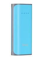 Внешний аккумулятор Hoco B21 Power Bank 5200 mAh Blue