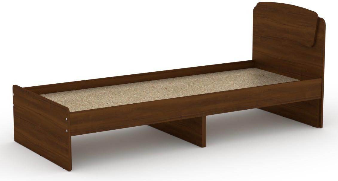 Кровать без ящиков Классика-80 КОМПАНИТ Орех экко (204.2х85.2х86 см)