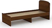 Кровать без ящиков Классика-80 КОМПАНИТ Орех экко (204.2х85.2х86 см), фото 1