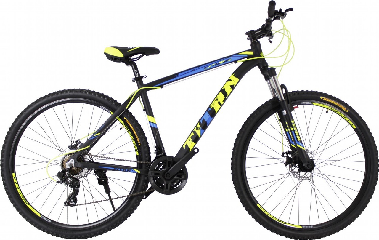 """Горный алюминиевый велосипед  29"""" TITAN EXTREME DD 2020 Al"""