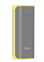 Внешний аккумулятор Hoco B21 Power Bank 5200 mAh Gray