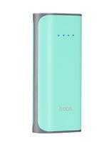 Внешний аккумулятор Hoco B21 Power Bank 5200 mAh Green