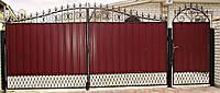 Входные двери Двери Комфорта Ворота комплект 9