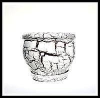 Горшок цветочный керамический Шелуха классический