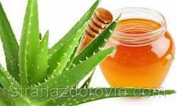 Настоянка соку алое і меду.