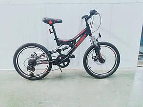 Спортивный горный велосипед Crosser Smart 20 дюймов размер рамы 12  GREY, фото 2