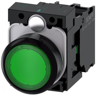 Siemens SIRIUS ACT 3SU1102-0AB40-3BA0 Нажимная кнопка с сигнализацией