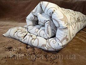 Полуторное утяжеленное одеяло.  130х180см, 5кг, с кармашками на замочках и гречневой шелухой (лузгой)