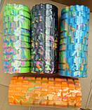 Массажер, валик, ролик массажный для спины и йоги MS 0857-1 (4 цвета), фото 10