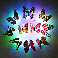 Мини-ночник Светящаяся LED Бабочка