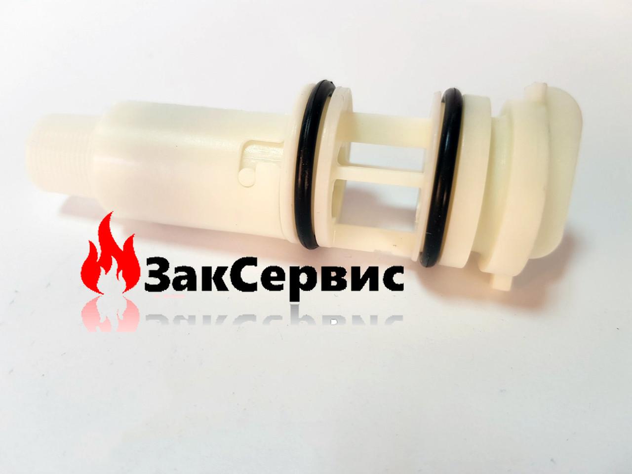 Датчика протока с фильтром и турбиной в сборе на газовый котел Baxi Eco 4, Westen Pulsar D 710048100
