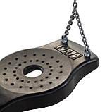 Сидение для качели Forto, резиновое с металлической вставкой, фото 3