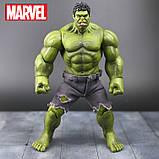 Супер-реалистичная фигурка Халка высотой 26см - Hulk, Avengers, Marvel, фото 2