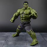 Супер-реалистичная фигурка Халка высотой 26см - Hulk, Avengers, Marvel, фото 4