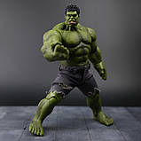 Супер-реалистичная фигурка Халка высотой 26см - Hulk, Avengers, Marvel, фото 7
