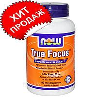 Now Foods True Focus 90 шт