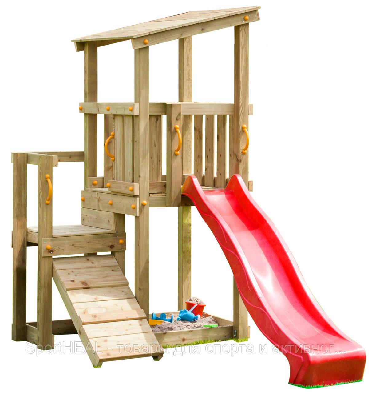 Детская игровая площадка Blue Rabbit Cascade с 2 горками