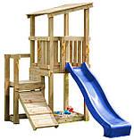 Детская игровая площадка Blue Rabbit Cascade с 2 горками, фото 2