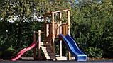 Детская игровая площадка Blue Rabbit Cascade с 2 горками, фото 9