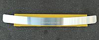 Накладка на бампер Subaru Forester II  2002-2008