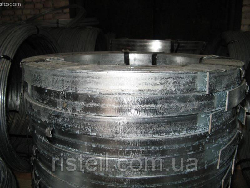 Смуга сталева для заземлення оцинкована 50х4 мм