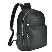 Женский кожаный рюкзак TIDING BAG A1289 Черный