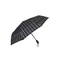Автоматический зонт Три слона в клетку Серый 624-3, КОД: 1616173
