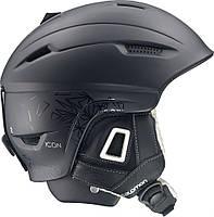 Горнолыжный шлем женский Salomon ICON CUSTOM AIR Black (MD)