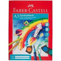 Бумага Faber-Castell А3 10 листов 100/м2 в папке, фото 1