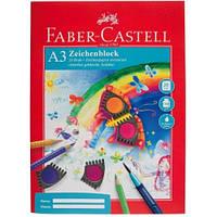 Бумага Faber-Castell А3 20 листов 100/м2 в папке, фото 1