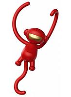 Автомобильный ароматизатор Aroma Baseus Monkey Shaped Fragrance Red