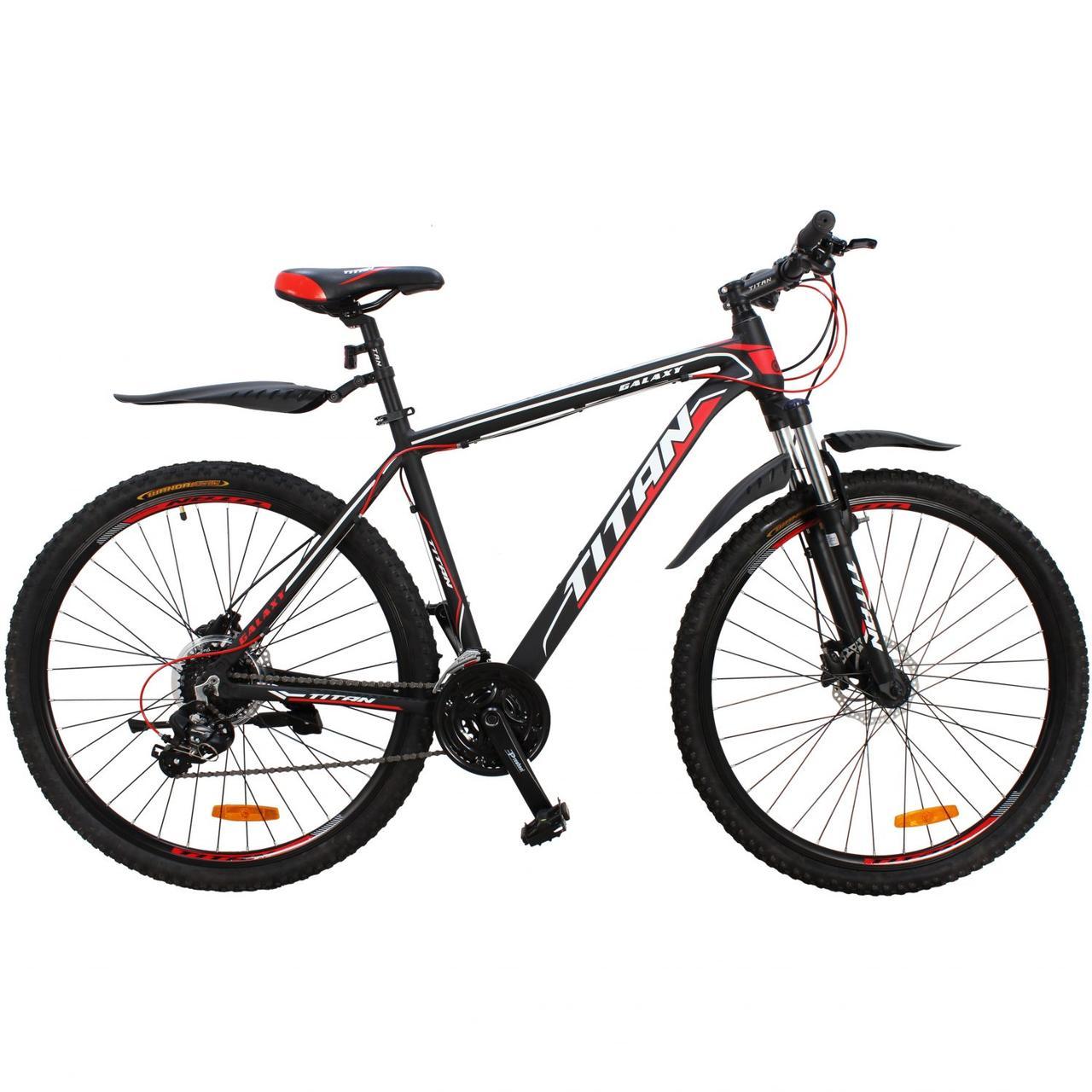 """Горный алюминиевый велосипед  29"""" TITAN GALAXY HDD 2020 Al"""