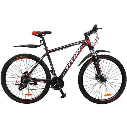 """Горный алюминиевый велосипед  29"""" TITAN GALAXY HDD 2020 Al, фото 2"""