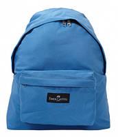 "Рюкзак Faber-Castell ""COLLEGE"" блакитний, 40*33*11,5 см"