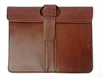 Кожаная папка для документов ручной работы в коричневом цвете от Tsar.store
