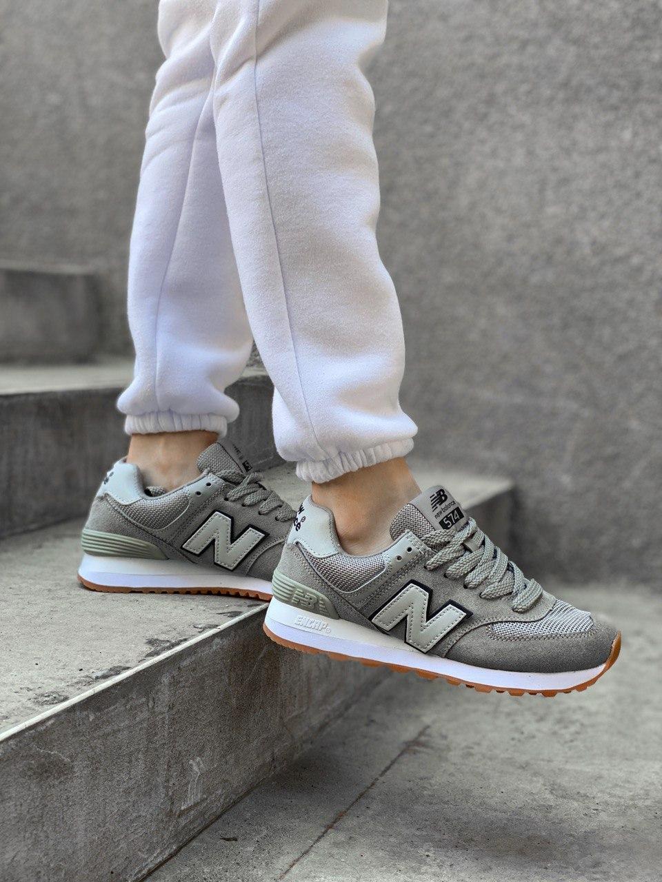 Женские кроссовки New Balance PA94 серые