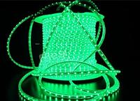 Світлодіодна стрічка 120Led/m 2835 220В 4W/m AVT IP65 зелена