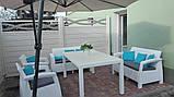 Комплект садовой мебели Allibert by Keter Corfu Fiesta Set White ( белый ), фото 7
